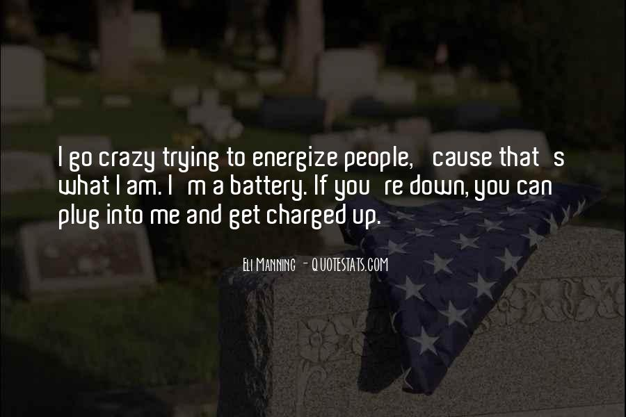 Quotes About Manning Up #27339