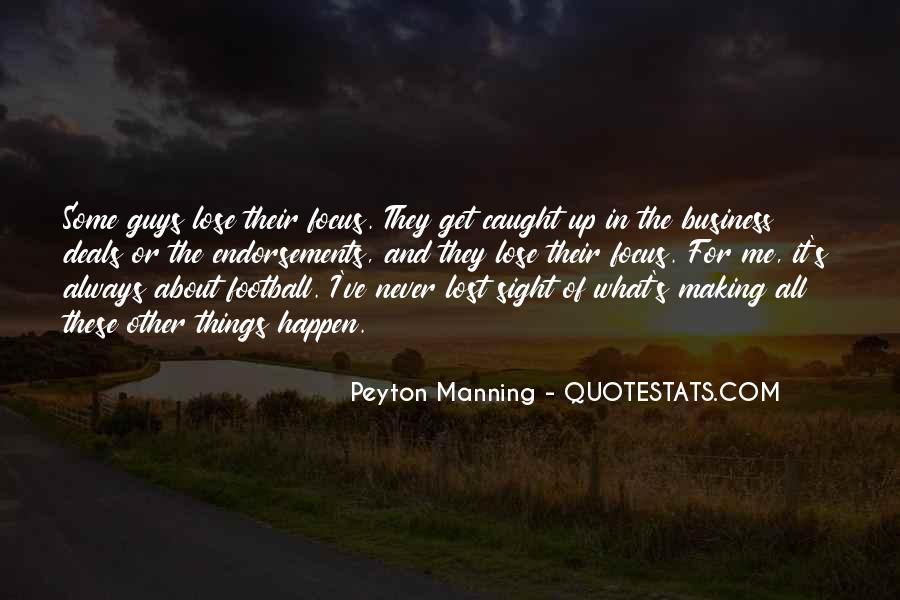 Quotes About Manning Up #446231