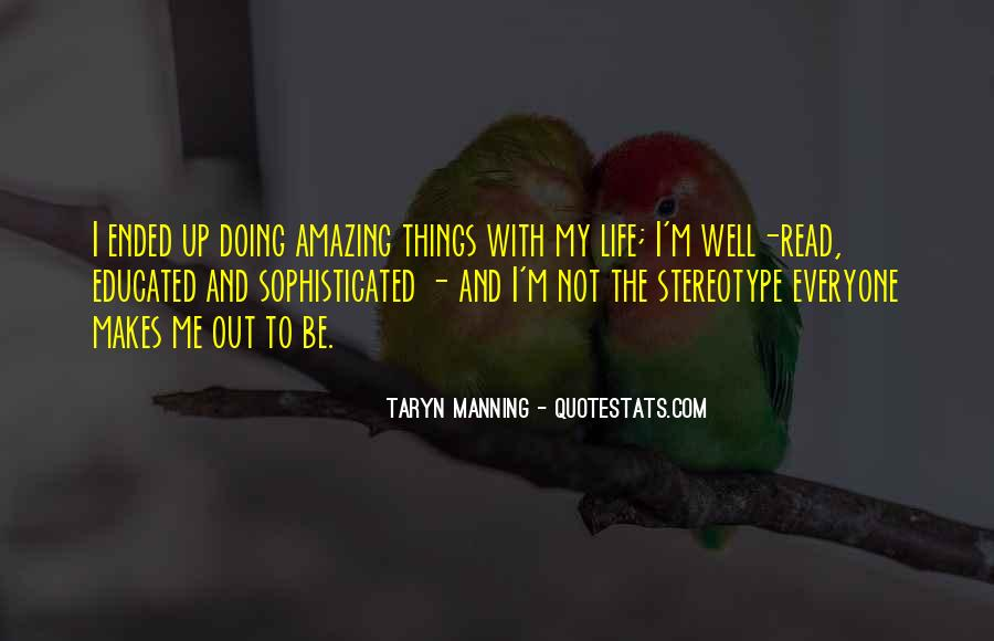 Quotes About Manning Up #696714