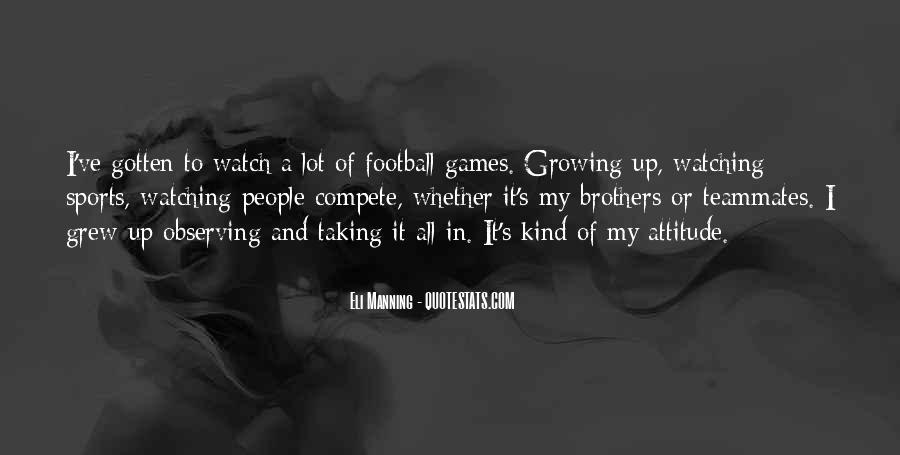 Quotes About Manning Up #873379