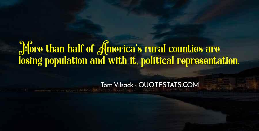 Quotes About Rural America #1427989