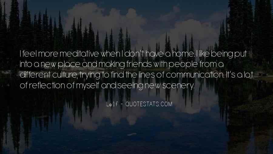 Quotes About Friends Without Communication #1076619