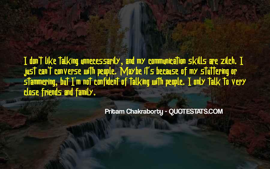 Quotes About Friends Without Communication #1616166
