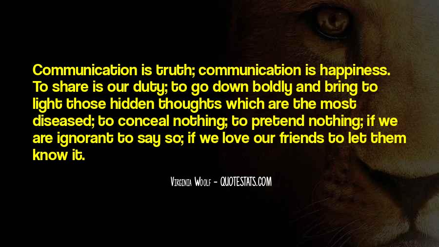 Quotes About Friends Without Communication #907874