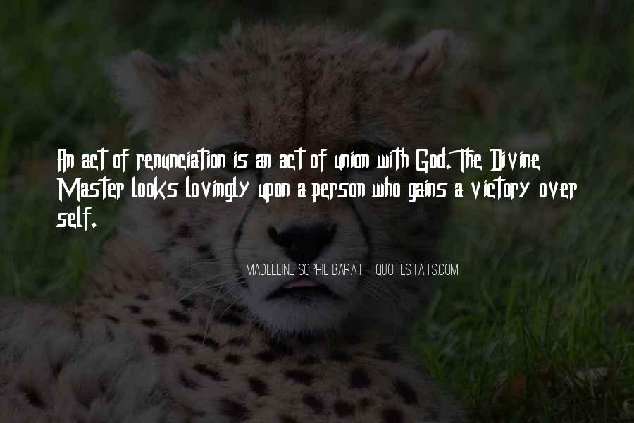 Quotes About Renunciation #128081