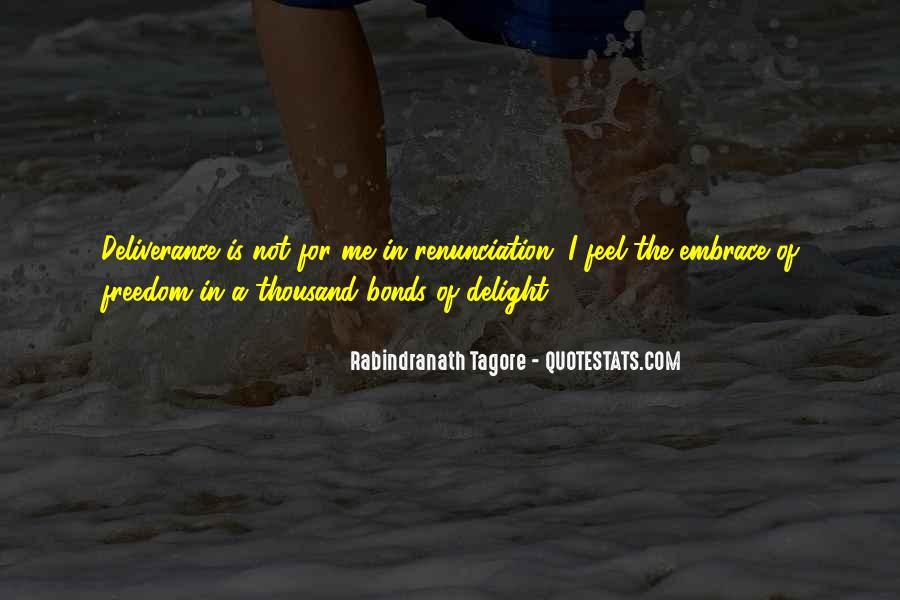 Quotes About Renunciation #152888