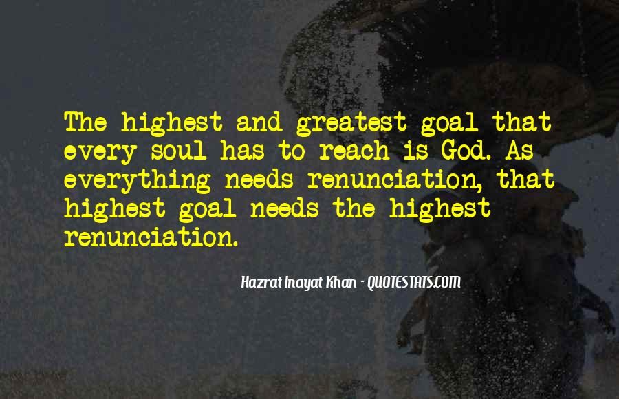 Quotes About Renunciation #157194