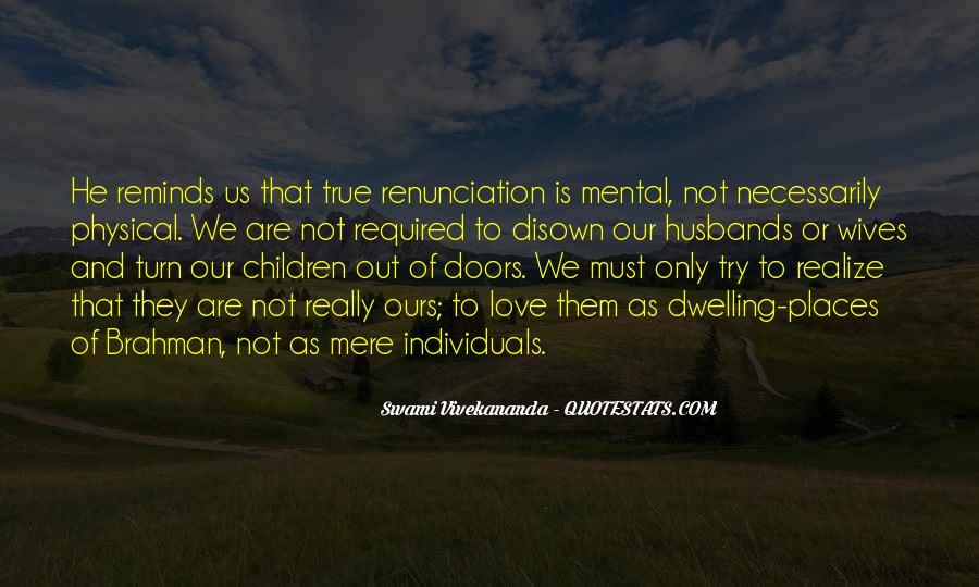 Quotes About Renunciation #171648