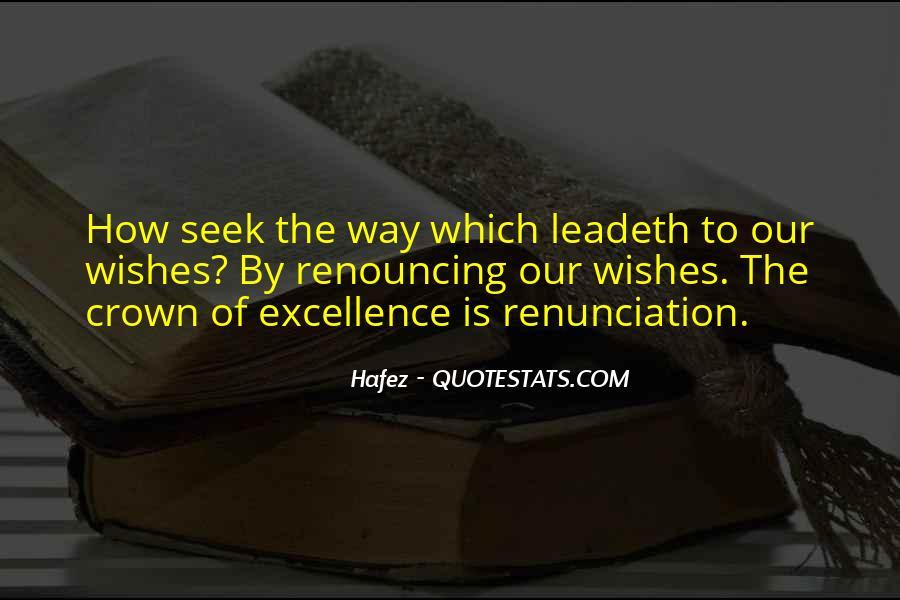 Quotes About Renunciation #257144