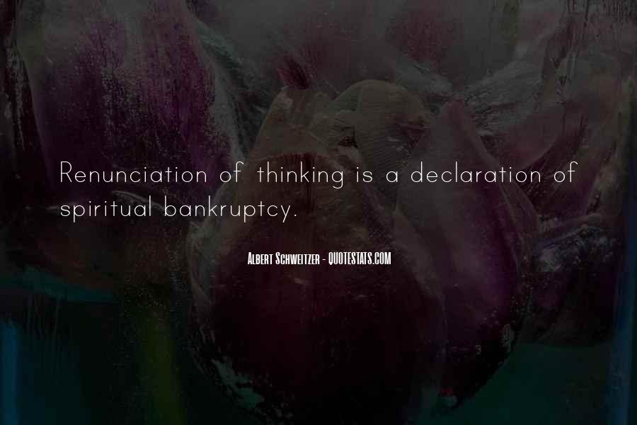 Quotes About Renunciation #461545