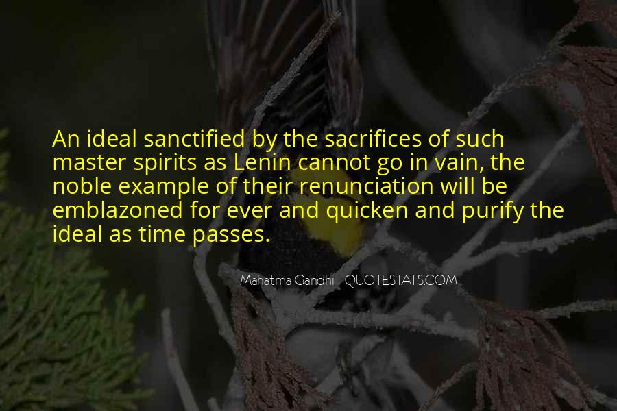 Quotes About Renunciation #480624