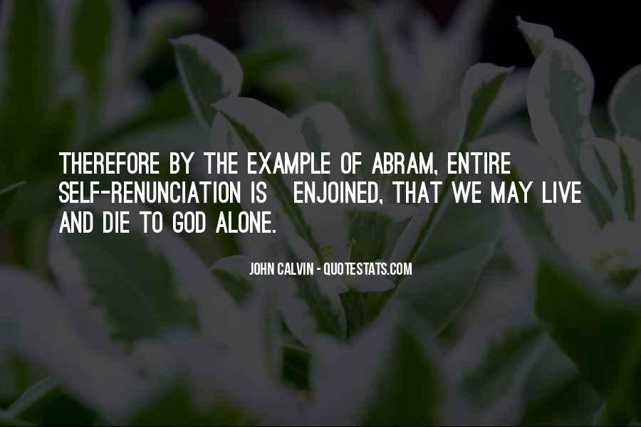 Quotes About Renunciation #501169