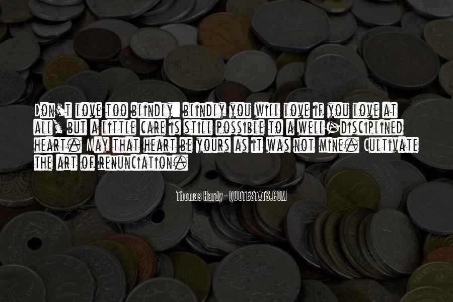 Quotes About Renunciation #550161