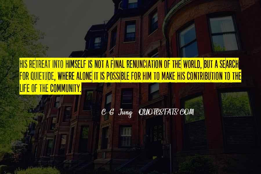 Quotes About Renunciation #597280