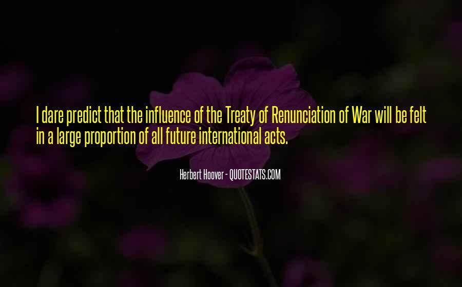 Quotes About Renunciation #619062