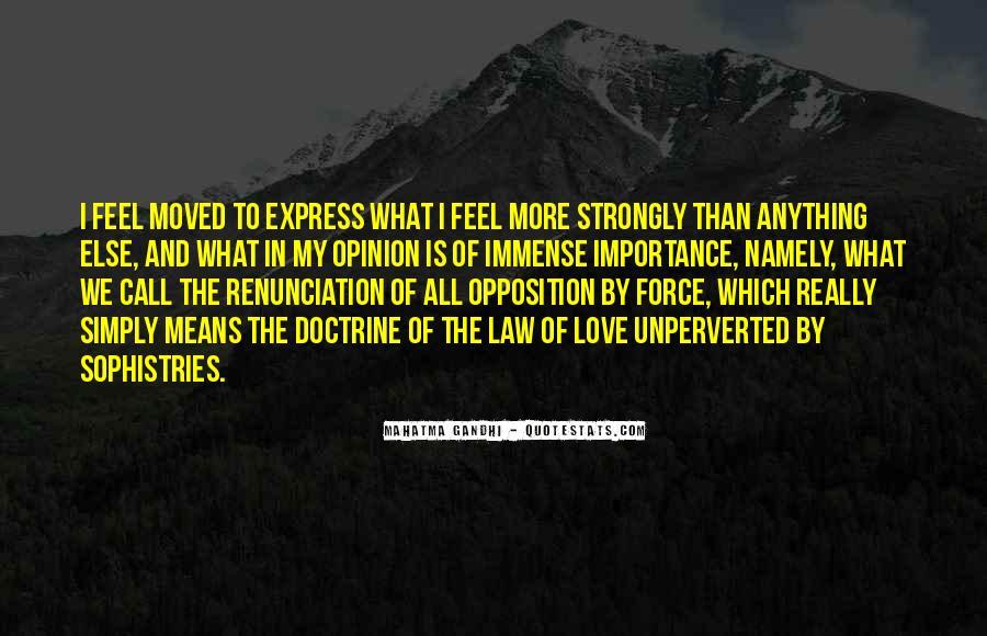 Quotes About Renunciation #647498