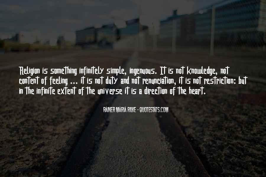 Quotes About Renunciation #660299