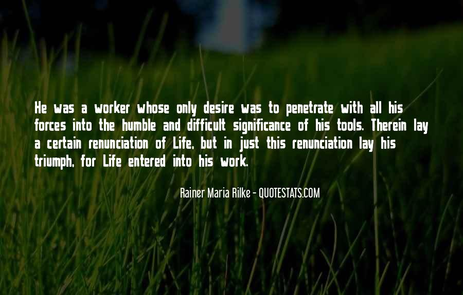 Quotes About Renunciation #785575