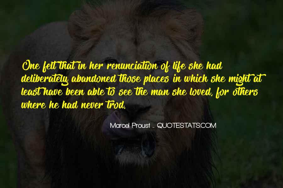 Quotes About Renunciation #827820