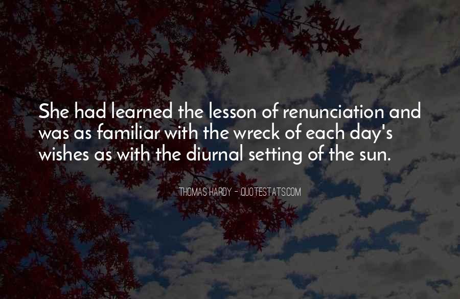 Quotes About Renunciation #848833