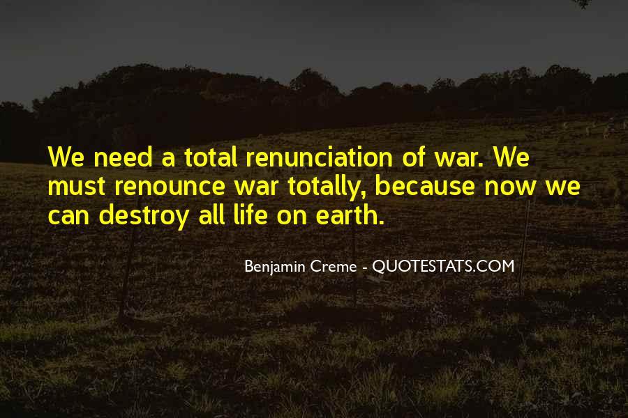 Quotes About Renunciation #856776