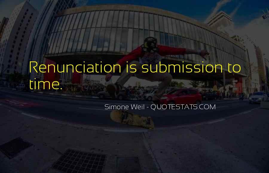 Quotes About Renunciation #9336