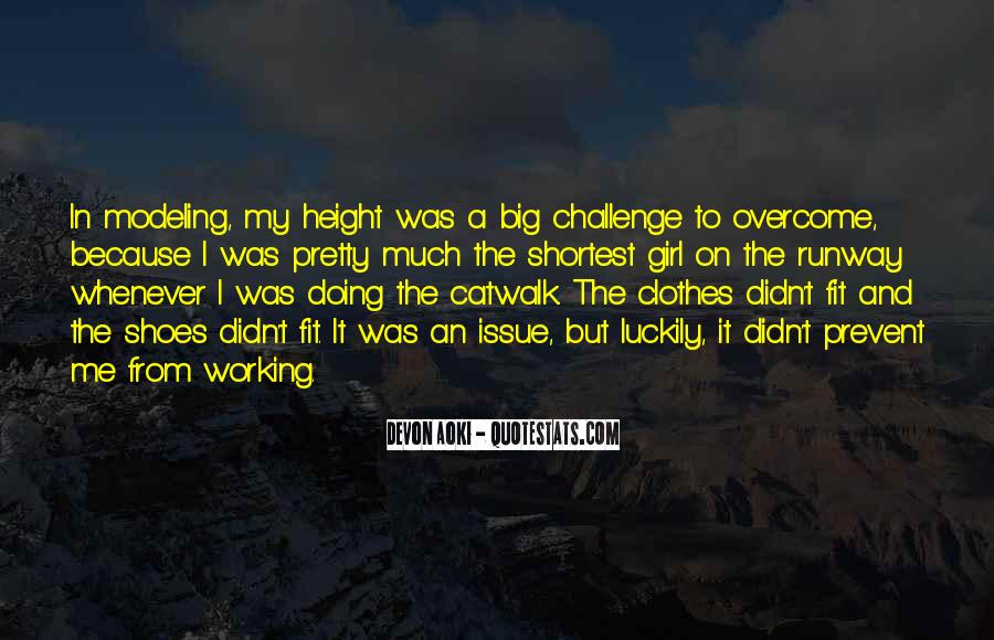 Quotes About A Big Challenge #645905