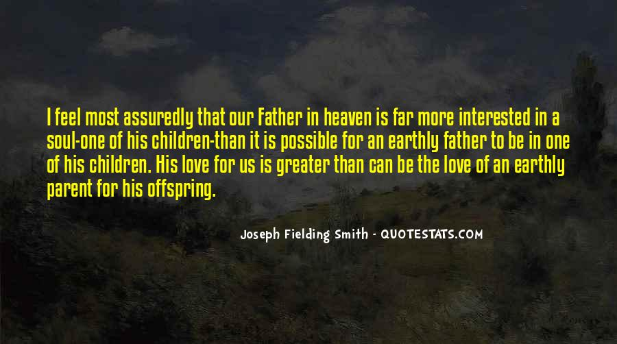 Quotes About The Love Of A Father #203935