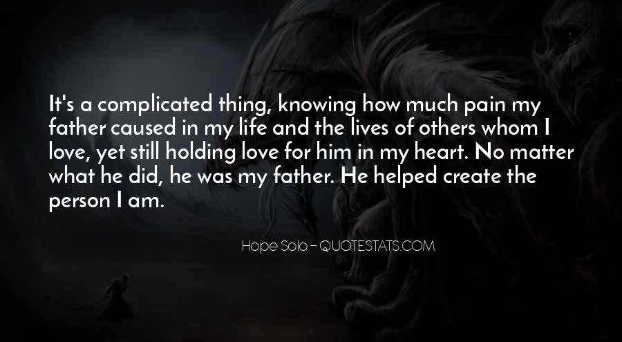 Quotes About The Love Of A Father #581532
