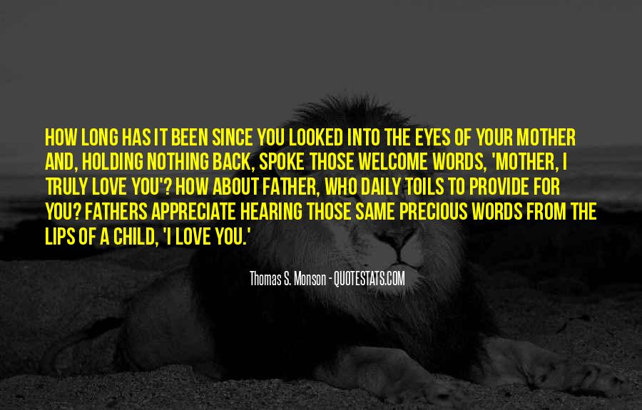 Quotes About The Love Of A Father #63445