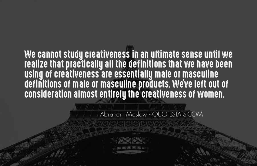 Quotes About Creativeness #437106