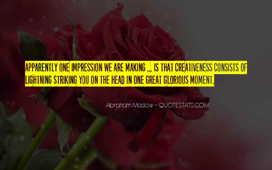 Quotes About Creativeness #795375