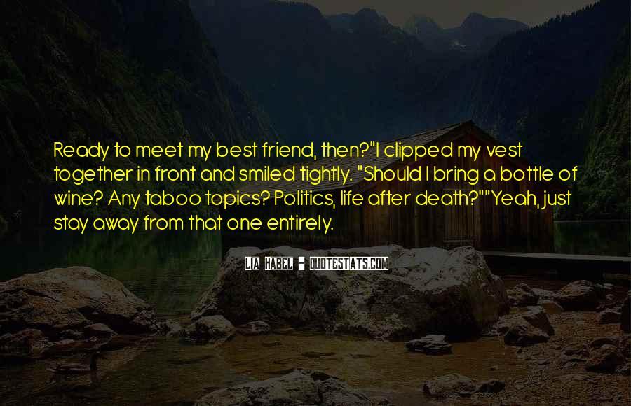 Quotes About Death Best Friend #1850851