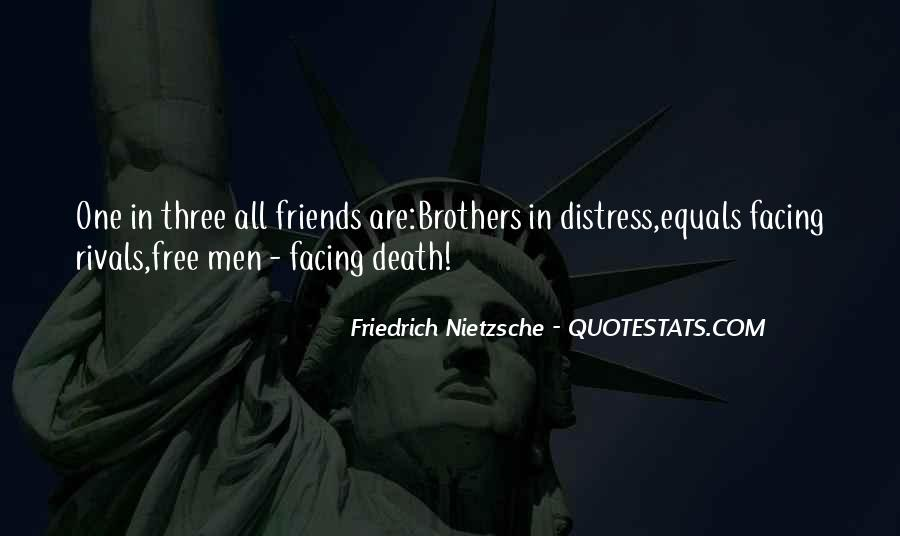 Quotes About Friendship Till Death #294457