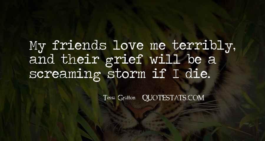 Quotes About Friendship Till Death #339447