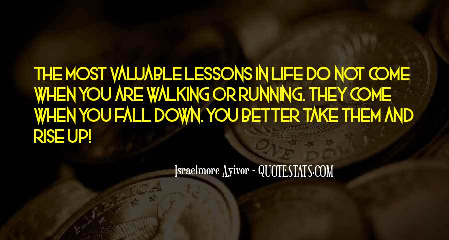 Quotes About Running Before You Can Walk #341251
