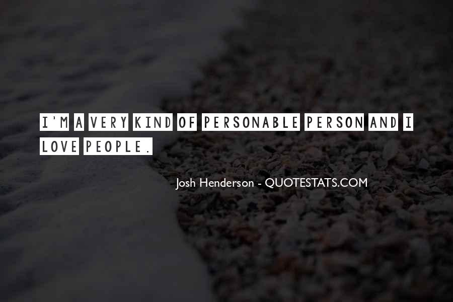 Quotes About Personable #1008459