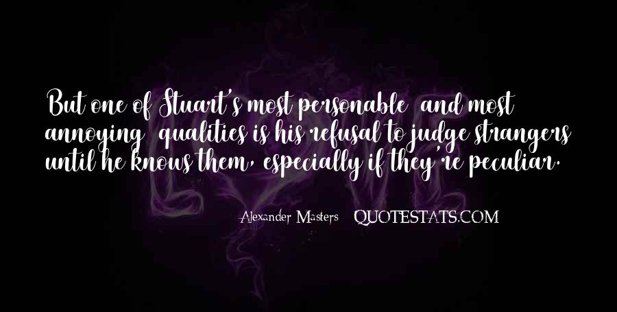 Quotes About Personable #1815597