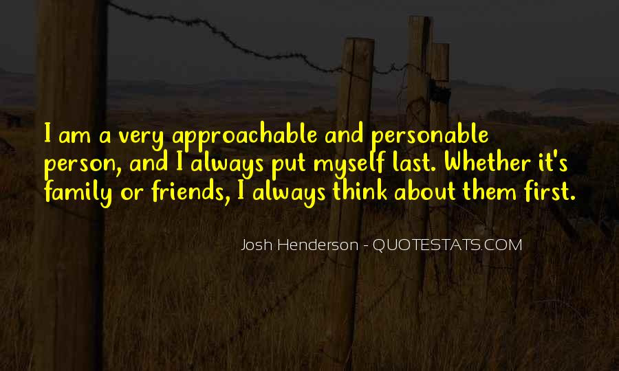 Quotes About Personable #336560