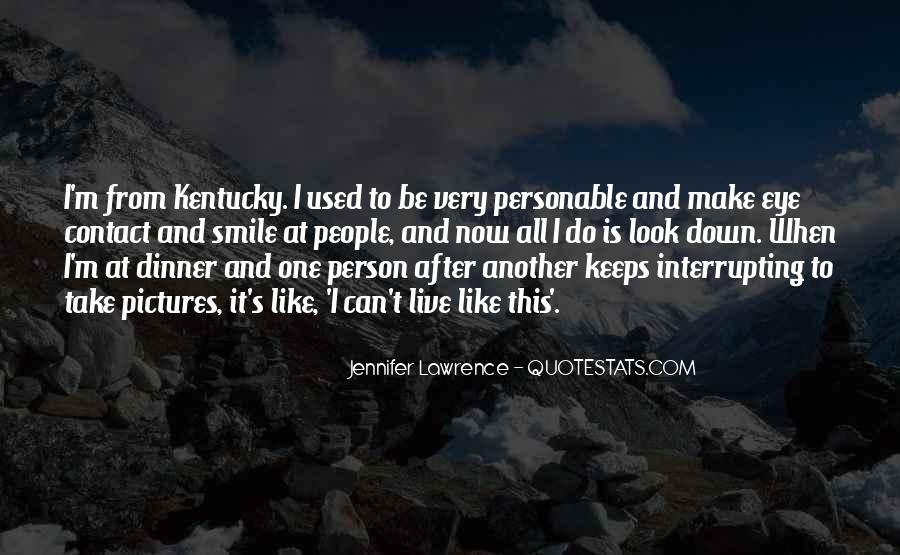 Quotes About Personable #782505