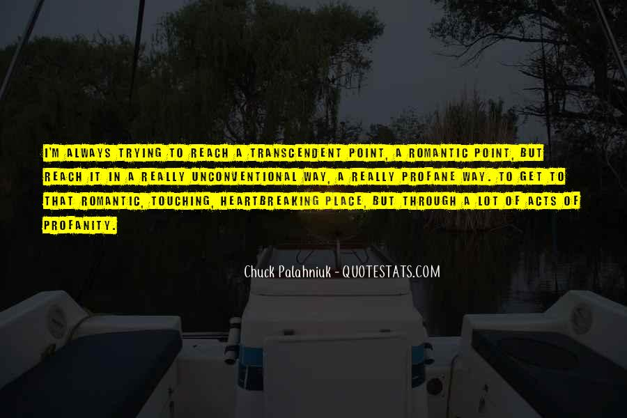Quotes About Transcendent #150120