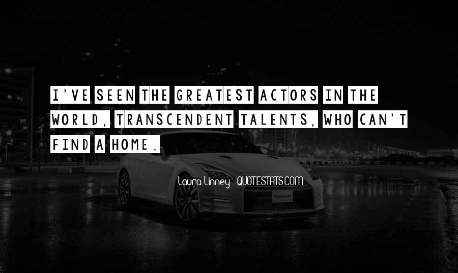 Quotes About Transcendent #161011