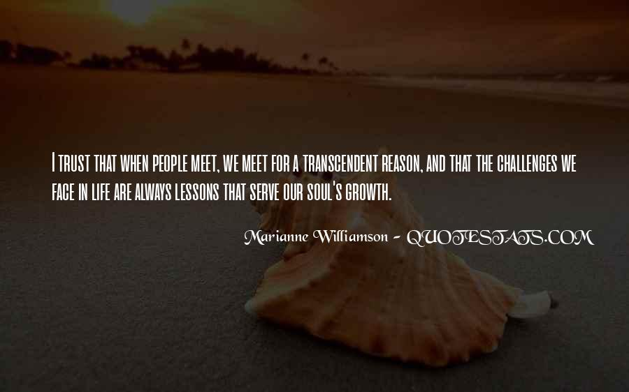 Quotes About Transcendent #183693