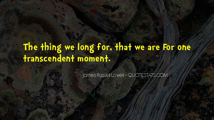 Quotes About Transcendent #199376