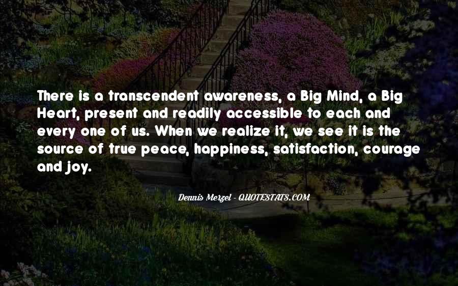 Quotes About Transcendent #291599