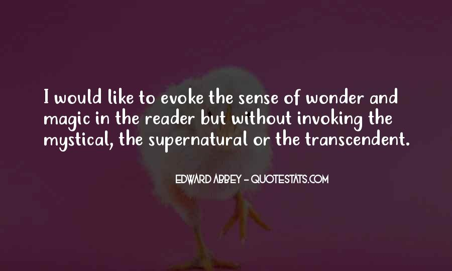 Quotes About Transcendent #311151