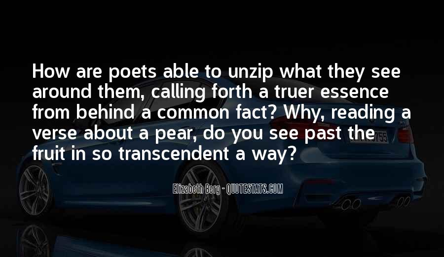 Quotes About Transcendent #512789