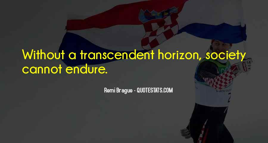 Quotes About Transcendent #550388