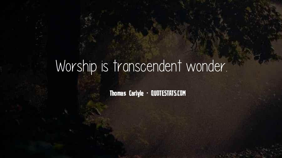 Quotes About Transcendent #567901