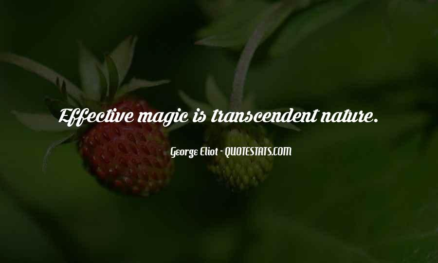 Quotes About Transcendent #92819